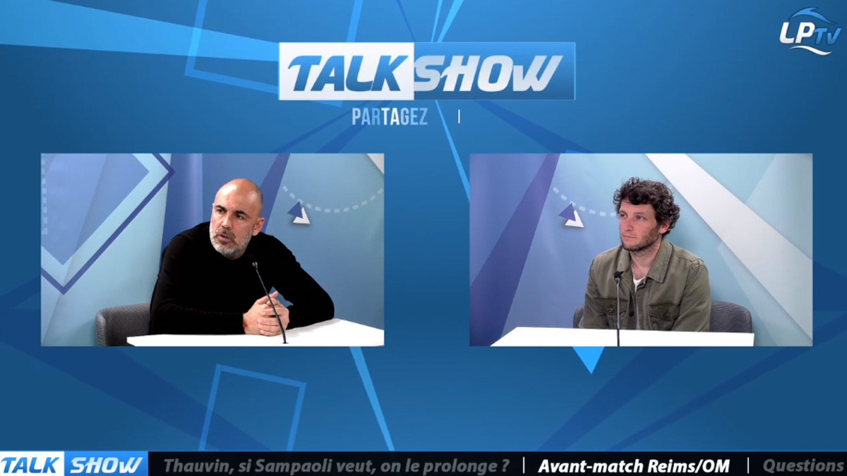 Talk Show du 22/04, Partie 3 : Avant-match Reims-OM