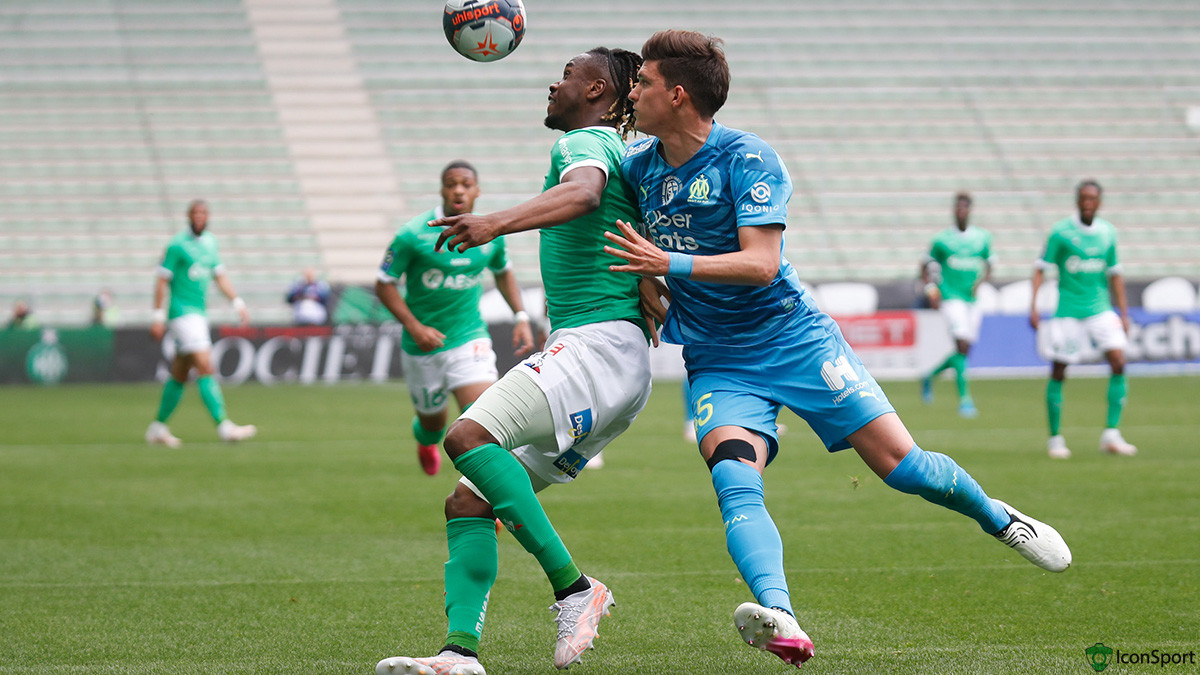 St Etienne 1-0 OM : les notes officielles