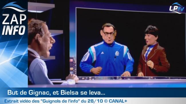 Zap : les Guignols pas drôles avec Bielsa