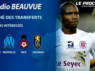L'OM suit Claudio Beauvue