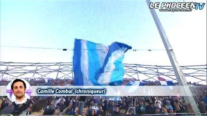 Camille Combal, fan de l'OM !