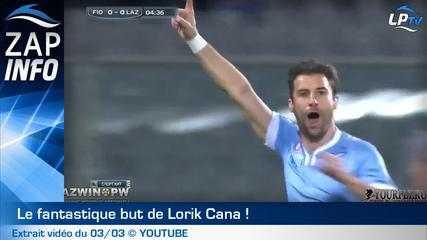 Zap : le fantastique but de Lorik Cana !