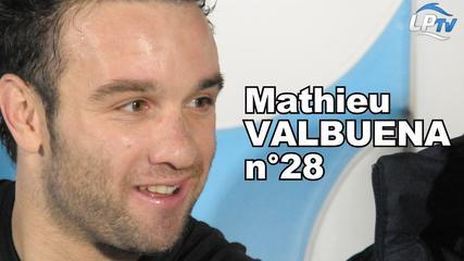 Mathieu Valbuena, numéro 28