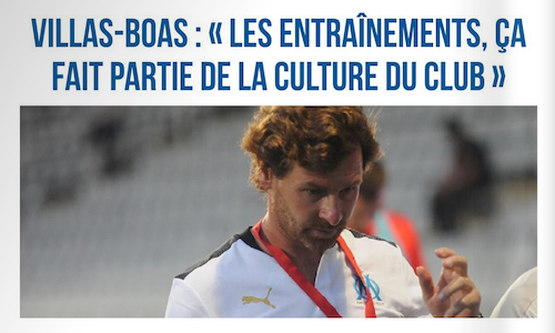 Défait 3-0, Villas-Boas évoque la