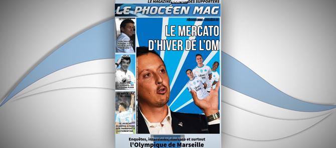 Le Phocéen Mag : même à sec, l'OM reste la star du mercato ! - Le Phoceen